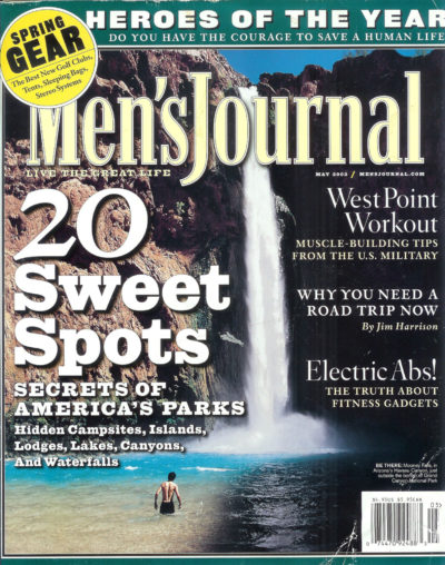 Mens Journal Cover May 2002