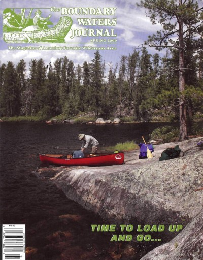 Boundary Waters Journal Cover Spring 2009