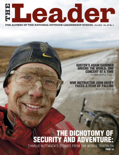 NOLS Leader Fall 2011 Cover