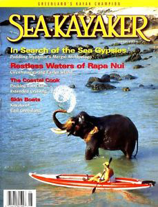 Sea Kayaker Magazine Cover June 2000