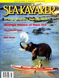 Sea Kayaker Magazine Cover June 2000