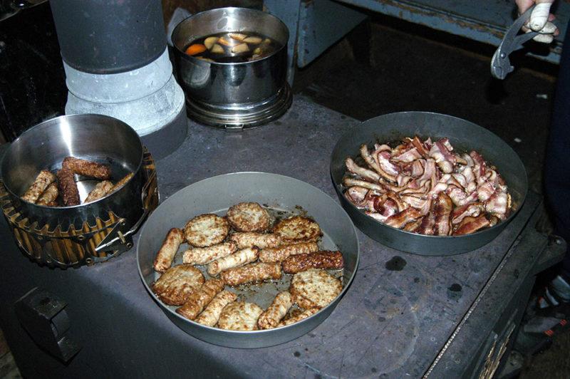 Katahdin breakfast