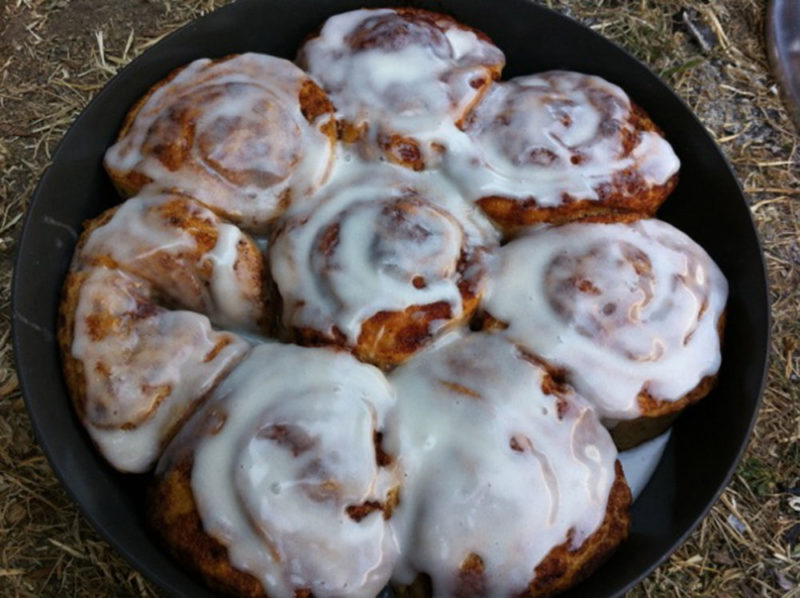 Kyle Clark's cinnamon buns